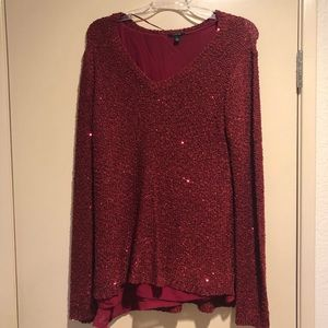 Apt. 9 XL sweater with sequins